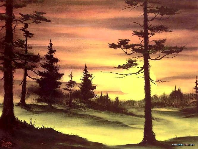 bob_ross_csg029_evergreens_at_sunset.jpg