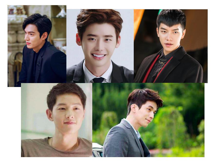 韩国男演员