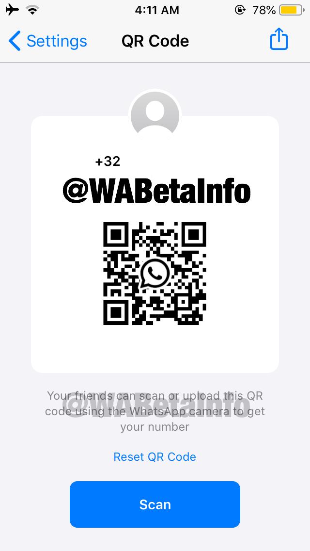 whatsapp二维码