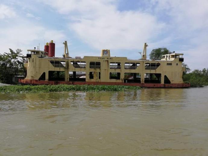 槟城旧渡轮